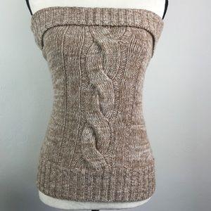 d4d47a9b049 Trina Turk Sweaters - Trina Turk Cable Sweater Tube Wool Top Size M